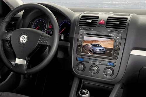 Phantom.Навигационный мультимедийный центр DVM-1800G HD для VolksWagen Passat B6, Jetta, Golf, Golf Plus, Touran, Caddy